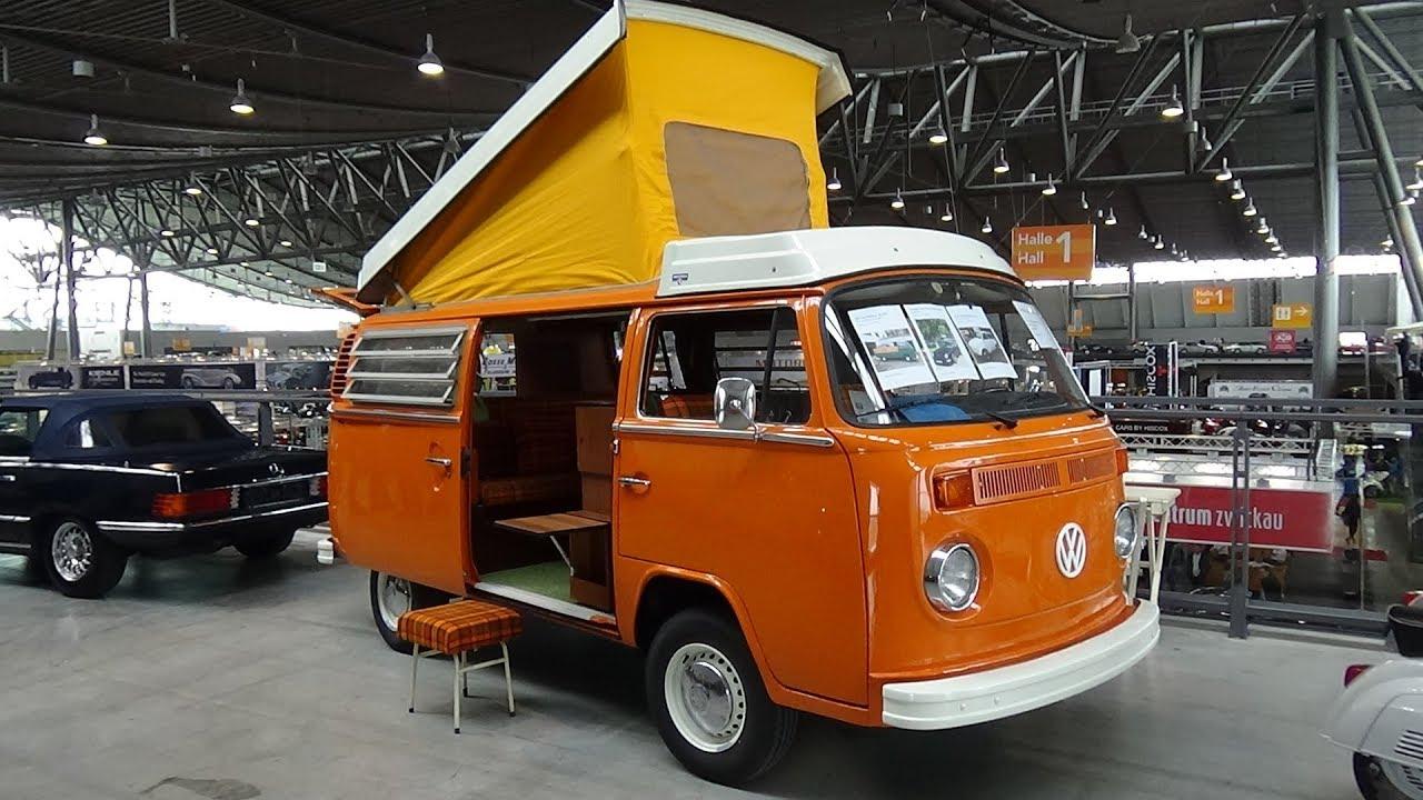 63df7a471b 1974 Volkswagen T2b Westfalia Helsinki - Exterior and Interior - Retro  Classics Stuttgart 2018