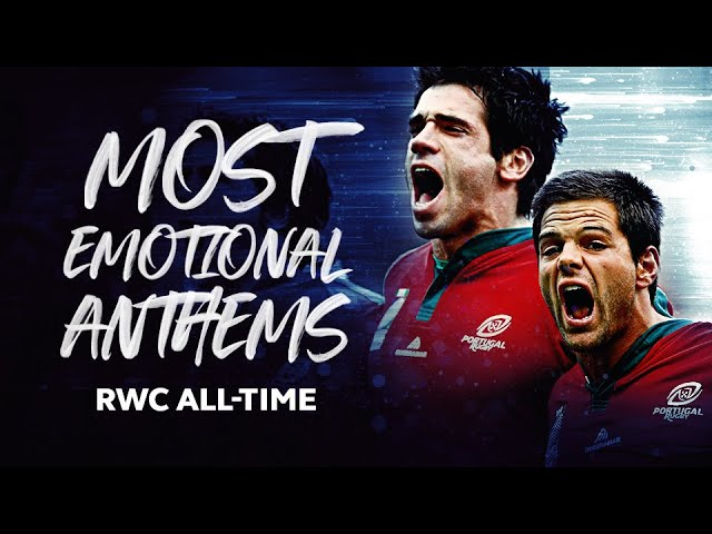Most Passionate National Anthems in Rugby World Cup History 🔊