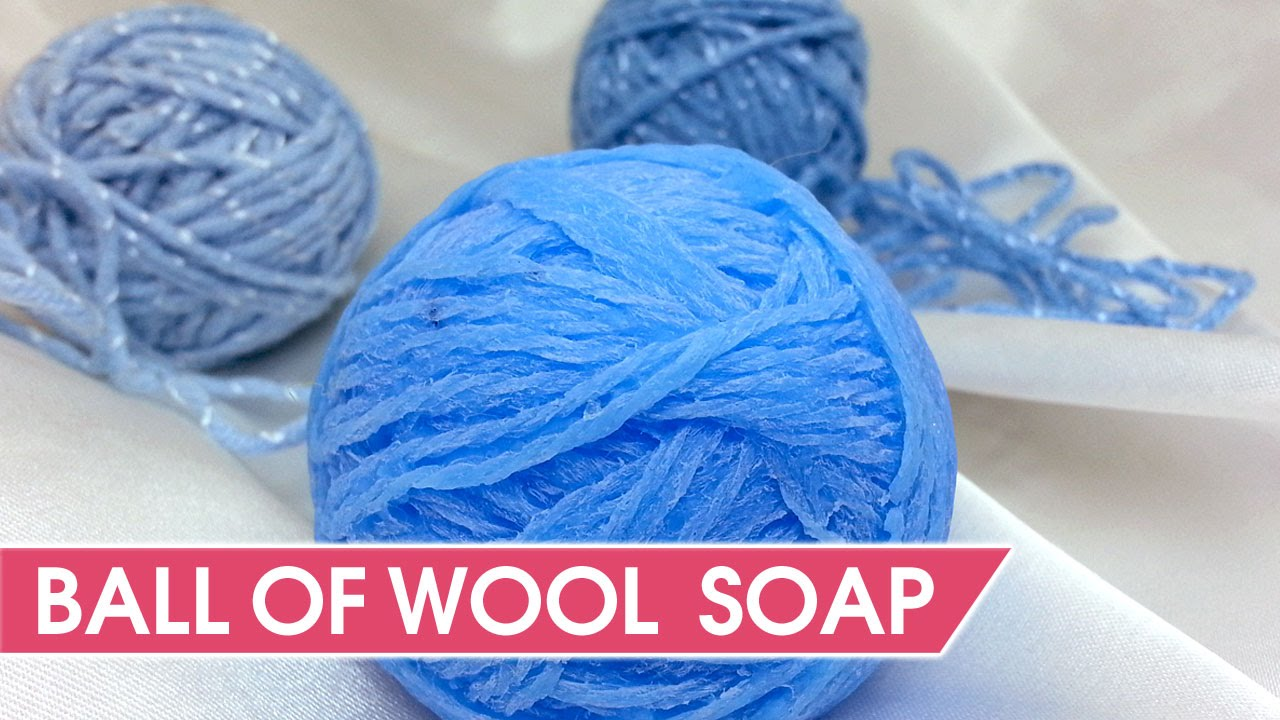 How To Make Ball Of Wool Soap Custom Silicone Molds Making Youtube