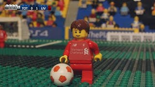 Champions League Final 2019 in LEGO (Tottenham v Liverpool)