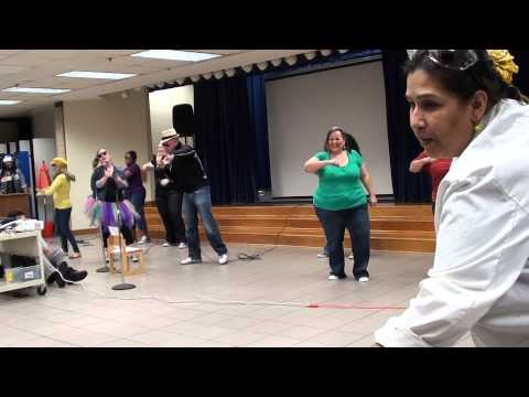 Chambers Elementary Kinders 100th Day of School Celebration Song