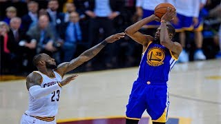 Kevin Durant Makes 3-Point Dagger Over LeBron James To Give Warriors 3-0 Lead | NBA Finals Game 3
