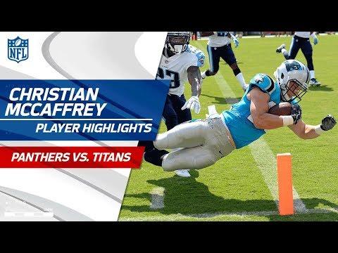 Every Christian McCaffrey Play vs. Tennessee | Panthers vs. Titans | Preseason Wk 2 Highlights