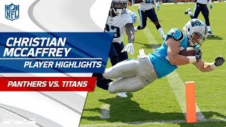 Every Christian McCaffrey Play vs. Tennessee | Panthers vs. Titans | Preseason Wk 2 Highlights