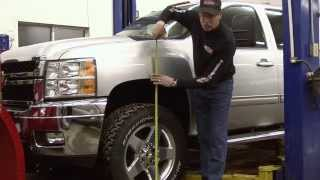 Maxx Cam Torsion Bar Leveling Kit Install Chevy 2500