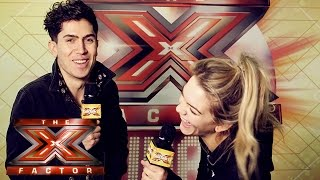 The X Factor Backstage with TalkTalkTV | Ep 44 | Luke Franks chats to your Finalists