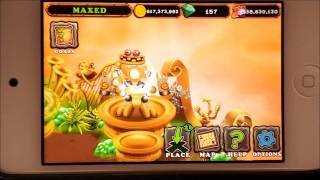 My Singing Monsters Wubbox to a Bowhaus Reeferb on Gold Island and Plant Island