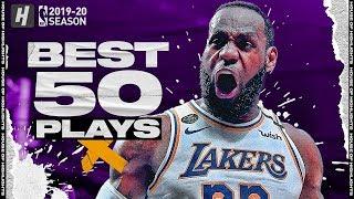 LeBron James BEST 50 Plays of the 2019-20 NBA Regular Season!