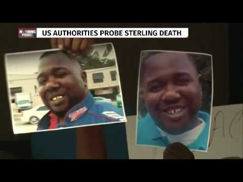 US authorities probe Sterling's death