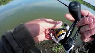01 06 21 Мормышинг отличный клев карася и окуня на Молоканке Crazy Fish Nano Zero Se