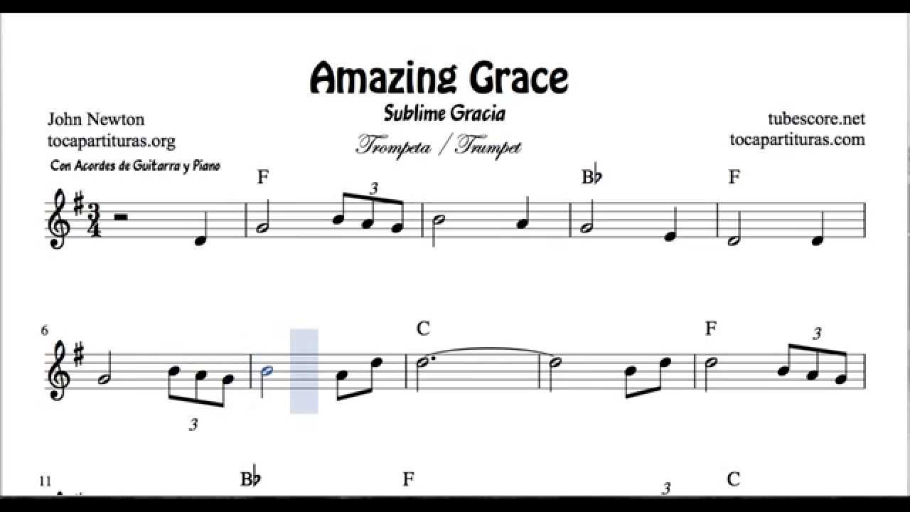 Amazing grace sheet music for trumpet and fluglehorn with chords amazing grace sheet music for trumpet and fluglehorn with chords youtube hexwebz Image collections