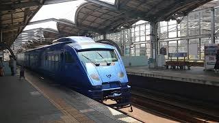 特急ソニック号が連続で到着  日豊本線行橋駅