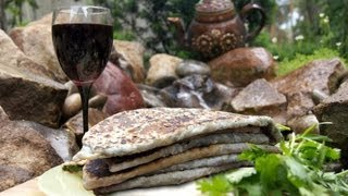 Рецепт женгялов хаца. Карабахский микс.