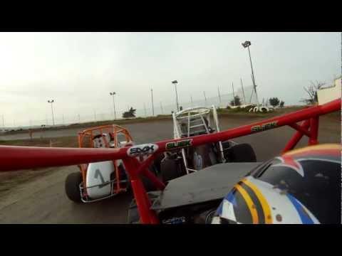 600 Micro Sprint Wingless 4/7/12 Heat 2 Cora Speedway