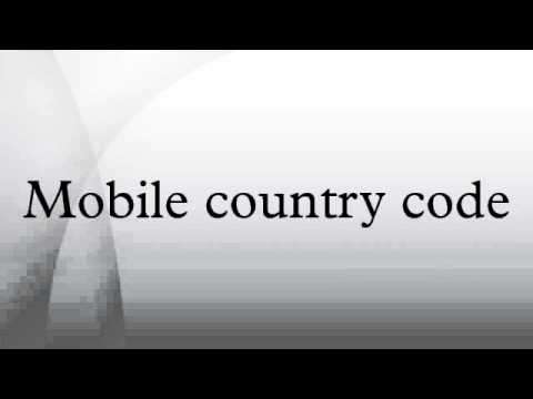 Mobile country code