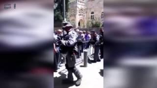 مصر العربية | شرطة الاحتلال الإسرائيلي تغلق المسجد الأقصى المبارك وتمنع إقامة صلاة الجمعة