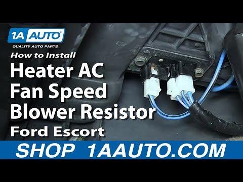 Heater Blower Motor Resistor for Mercury Tracer Ford Escort ZX2