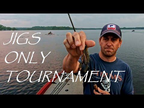 A Jigs ONLY Bass Fishing Tournament
