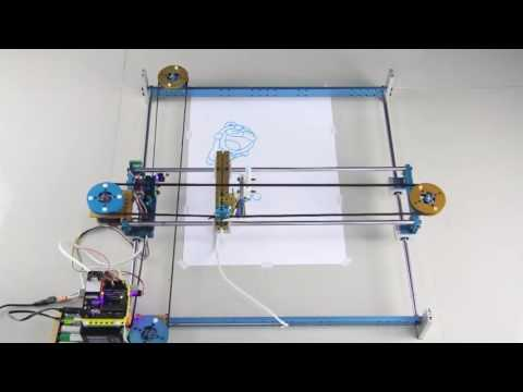 Kit robot Makeblock XY-Plotter Robot Kit V2.0