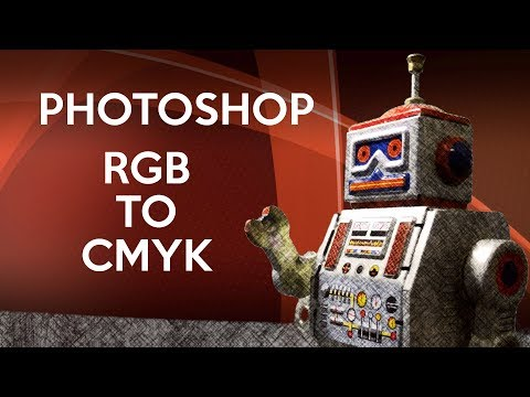 Converting RGB To CMYK In Photoshop CC