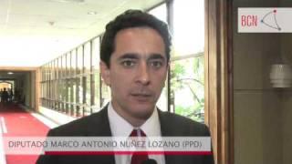 Diputado Marco Antonio Núñez Lozano (PPD) sobre cheque en garantía en salud