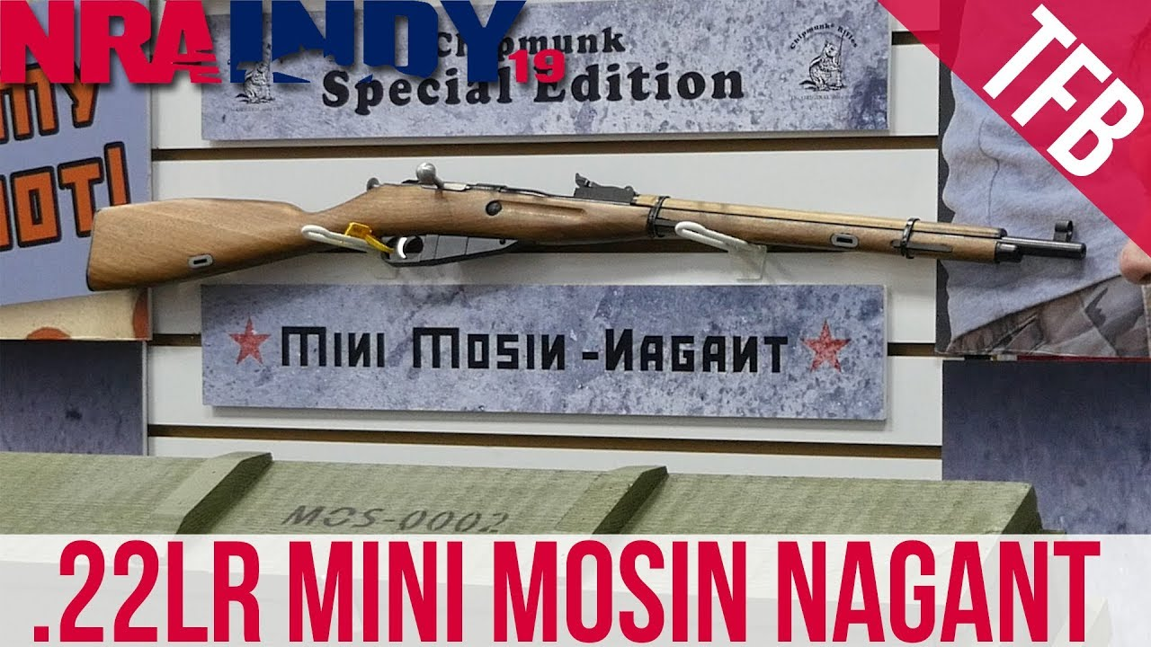 [NRA 2019] A Mini-Mosin Nagant and a LOT of Wild New  22s