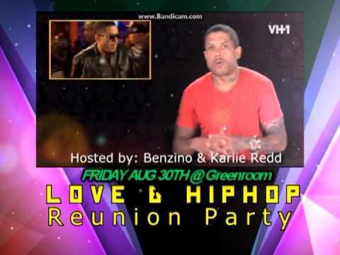 Love & HipHop Reunion Party Benzino & Karlie REDD - YouTube  Karlie