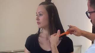 Layered Bob Hair Cut  easy- Corte em Bloco