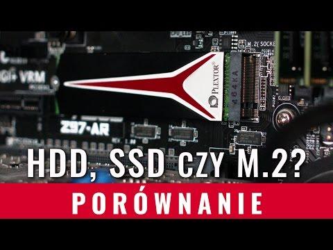 HDD, SSD czy M.2 - który dysk jest najlepszy? Test Plextor M8Pe