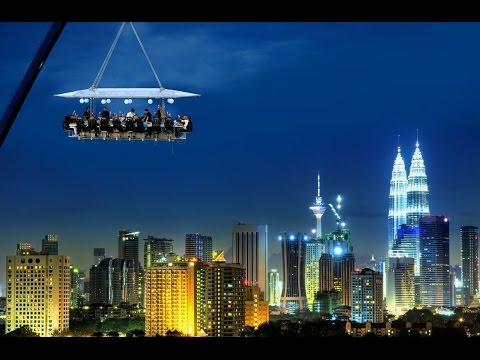 Dinner In The Sky Malaysia at Malaysia Tourism Centre Matic, Kuala Lumpur KL