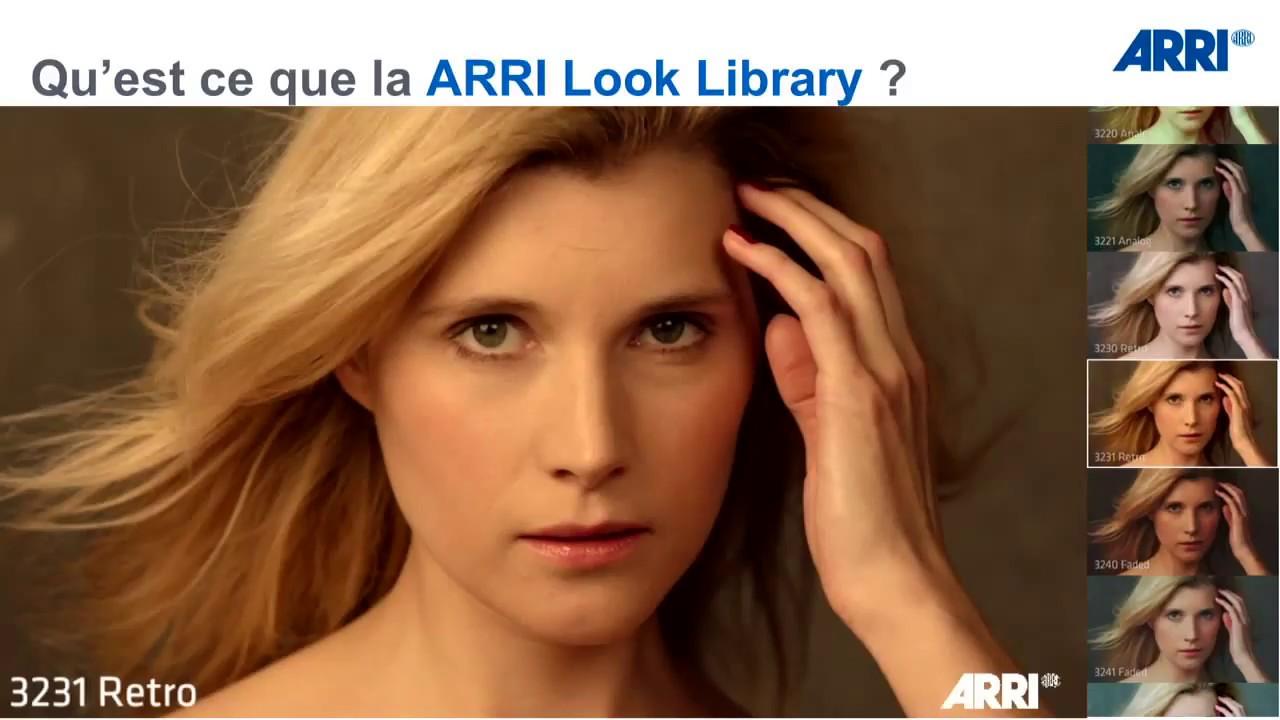 Visual Impact France et Arri: Les Arri Look Library