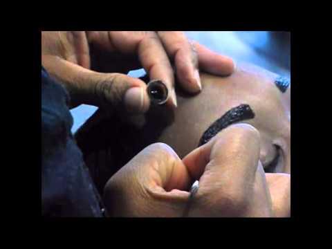 Temporary Eyebrow Tattoo / Brow Coloring Tutorial by Kobe Ellis ...