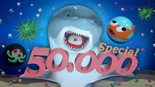 Agar.io 50K Special! - Shark Agario Gameplay + MatJoy Song & Announcement
