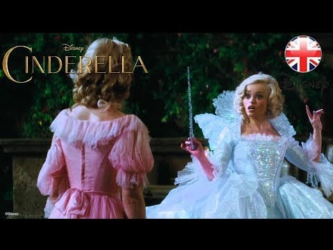 Cinderella – Helena Bonham Carter, The Fairy Godmother - Official Disney | HD