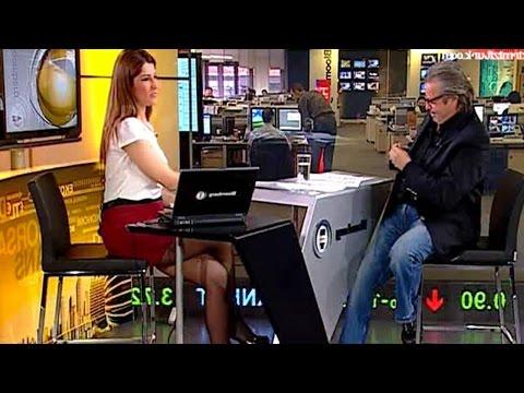 İpek Kaplan Köseoğlu Beautiful Turkish Tv Presenter 23.02.2013