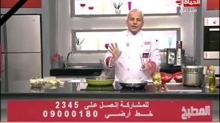 المطبخ – طريقة عمل كبده الدجاج بالمشروم – الشيف يسري خميس  – Al-matbkh