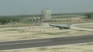 The Chief of the Air Staff Air Chief Marshal RKS Bhadauria flew the MiG-21 Bison aircraft.
