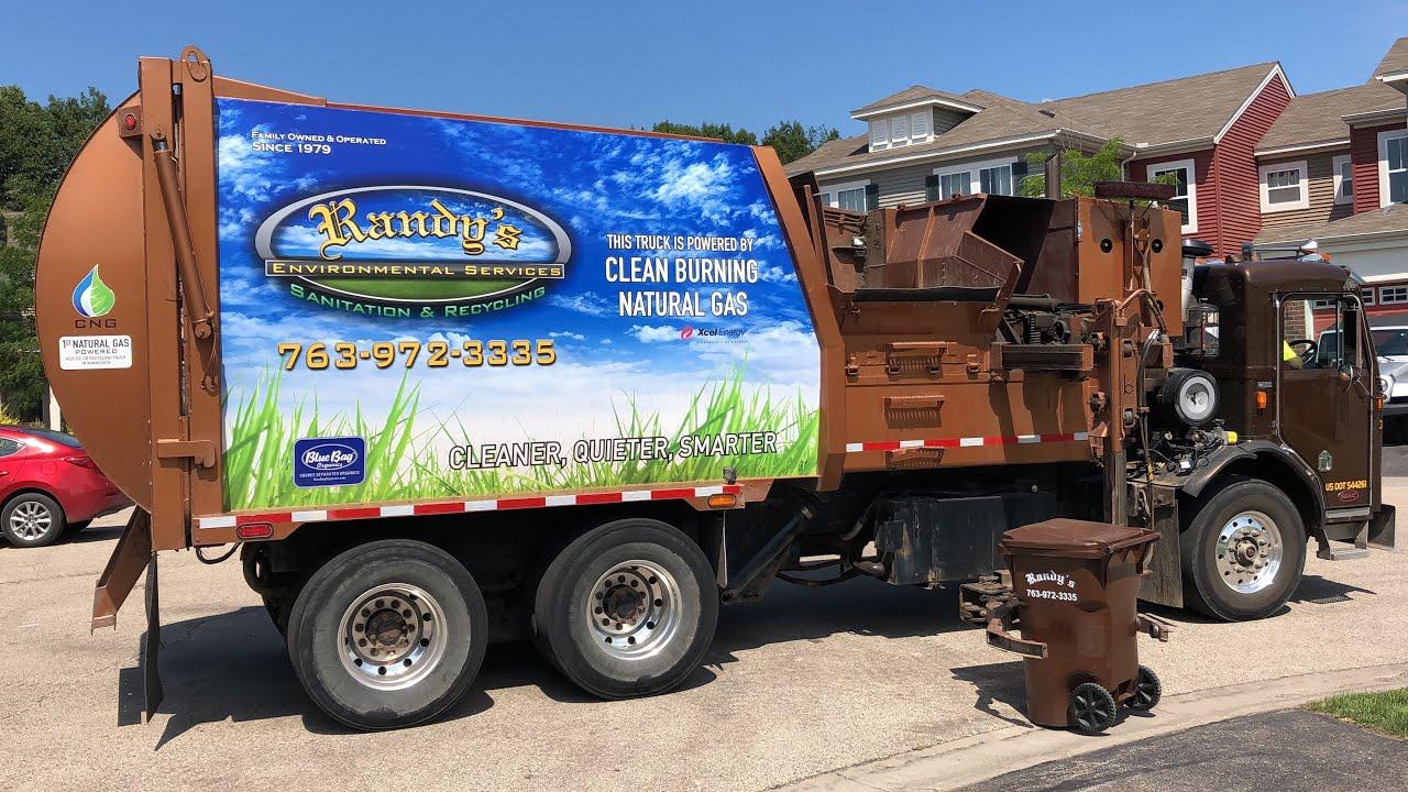 Randy's Pete Bridgeport Garbage Truck