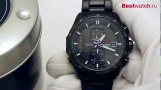 видео Мужские часы Casio Edifice EQW-A1200DB-1A