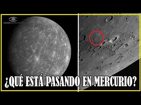 En MERCURIO Ocurre Algo MUY EXTRAÑO que la Ciencia NO Puede EXPLICAR