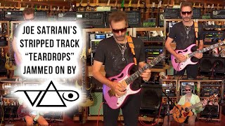 "Steve Vai jams over Joe Satriani's ""Teardrops"""