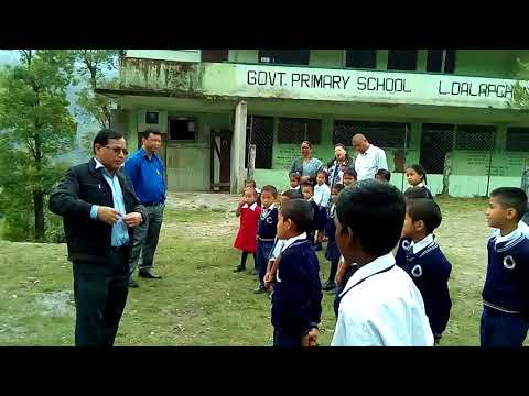 An official visit of Assistant Director Mr. Narad Chettri of HRDD /BAC/REGU EAST SIKKIM