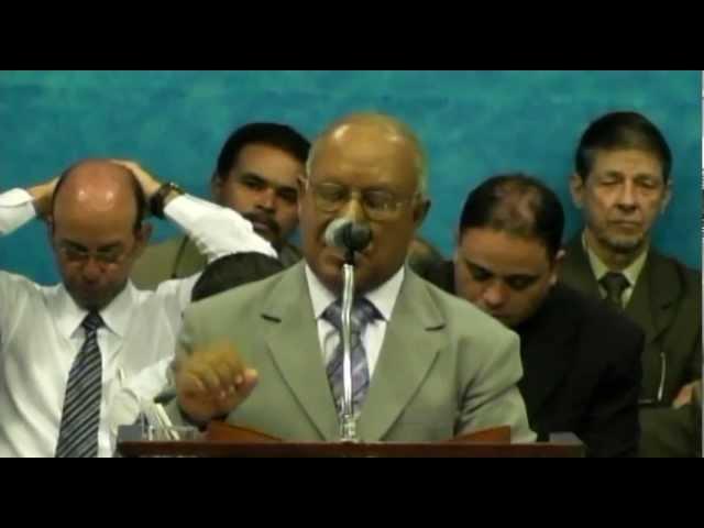 20.05.2012 - Encontro Regional de Pastores em Campinas/SP - Escola Dominical - Pr. Jamiro da Silva