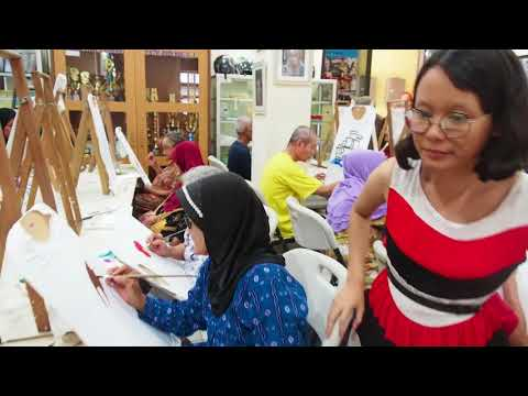 A Social Project : Painting with Elders in The Nursing House