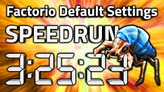 "Factorio ""Default Settings"" Speedrun in 3:25:23 by AntiElitz [0.16 World Record]"