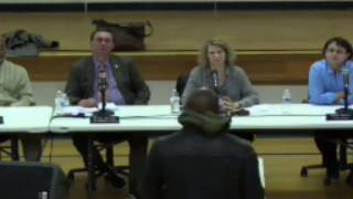 Dave Chappelle speaks at village council meeting