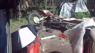 honda CRF450F ремонт