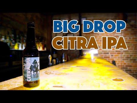�� Citra IPA Tasting Non Alcoholic & Gluten Free Beer Big Drop Brewing
