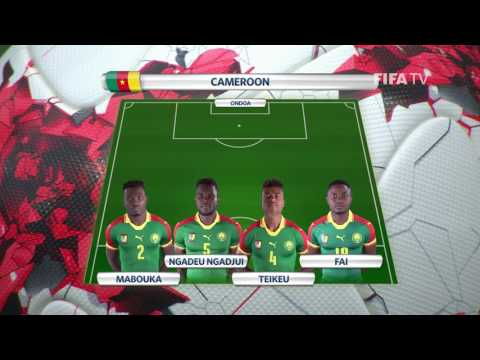 Match 11: Germany v Cameroon -Team Lineups - FIFA Confederations Cup 2017