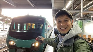 JR Train Luxury Resort Shirakami to Aomori Ride